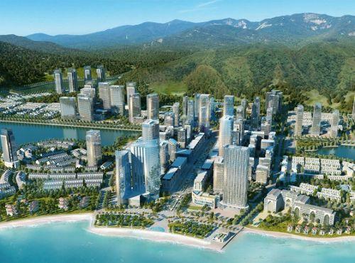 Bán đảo 2 dự án Halong Marina