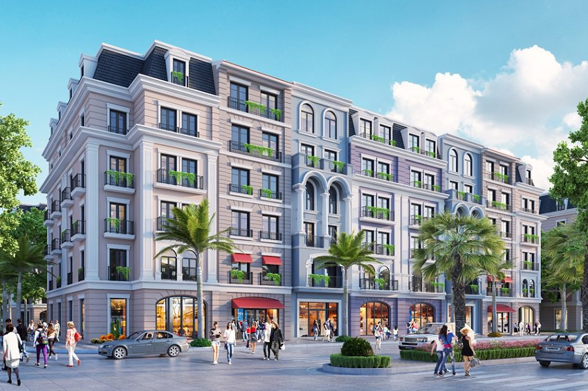 Bán Shoptel aqua city hạ long
