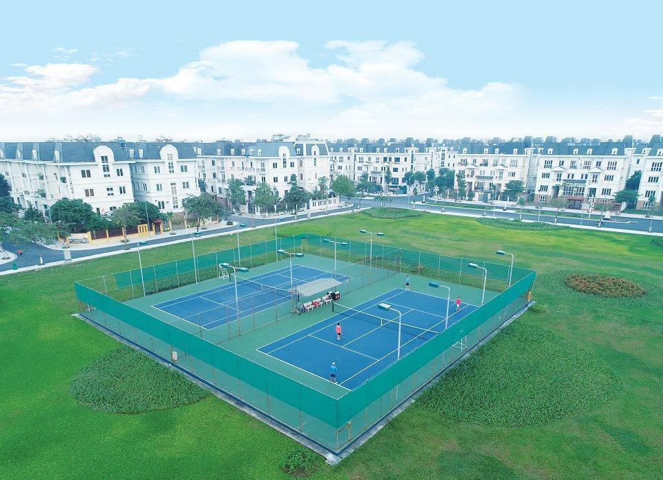 Sân Tenis Lideco bắ 32