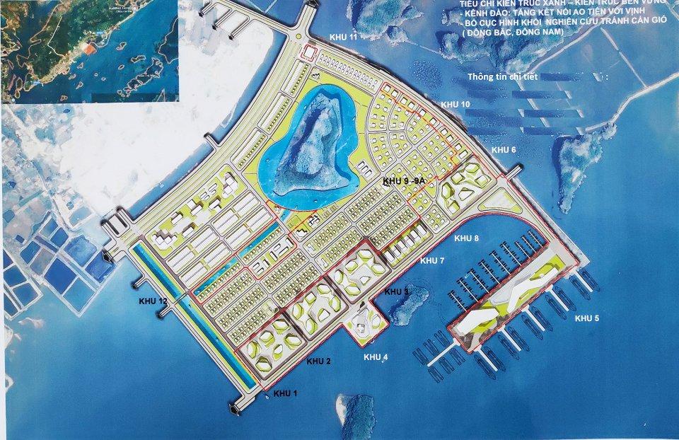 Quy hoạch dự án Ao Tiên Vân Đồn