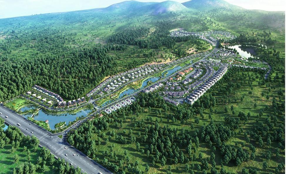 dự án Xanh Villas Thạch Thất