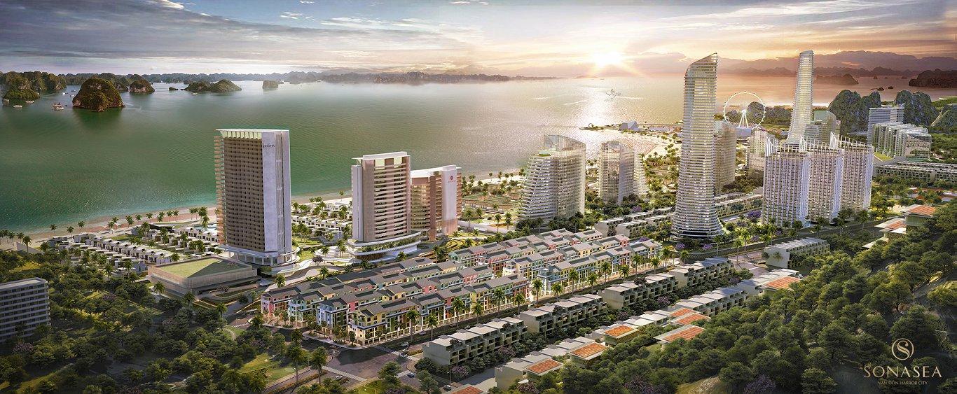 Các sản phẩm dự án Sonasea Vân Đồn Harbor City