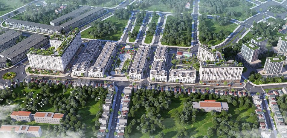Phối cảnh dự án flc premier parc