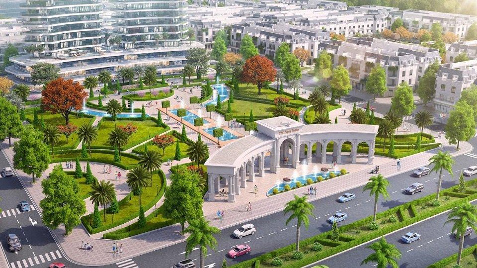 quảng trường khu đô thị FLC Legacy Kontum