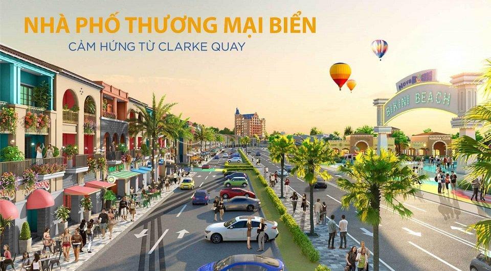 Nhà phố thương mại biển Novaworld Phan Thiết